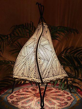 Floor Lamp Emira - nature 43cm – image 1
