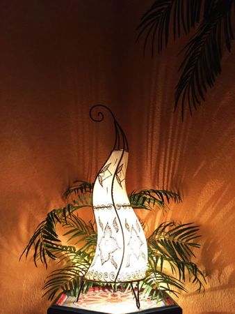 Floor Lamp Almina - nature 71cm – image 2