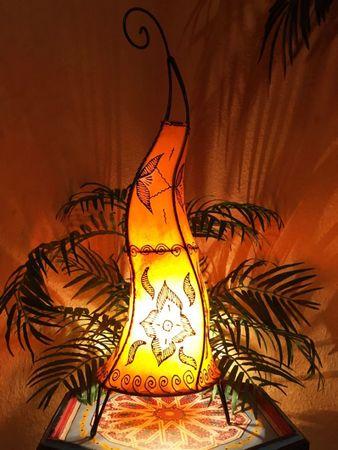 Floor Lamp Almina - orange 71cm – image 3