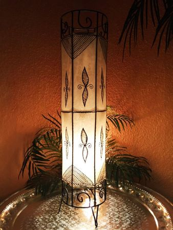 Floor Lamp Neslihan - nature 80cm – image 1
