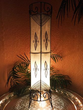 Floor Lamp Neslihan - nature 80cm – image 2
