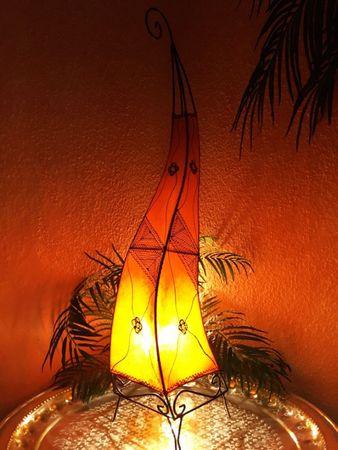 Floor Lamp Mehtap - orange 100cm – image 1