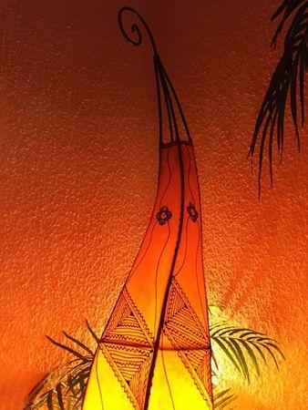 Floor Lamp Mehtap - orange 100cm – image 2