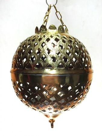 Oriental Ceiling Lamp Safiye - Gold colored Small – image 5