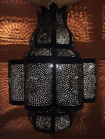 Moroccan Ceiling Light Harun – image 1