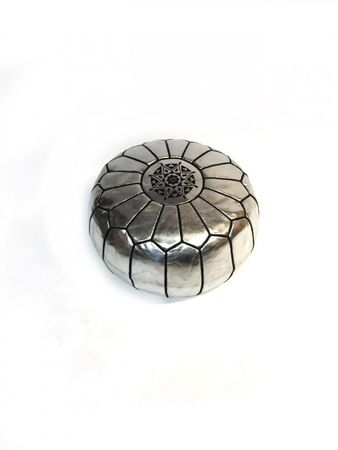 Oriental Seat Cushion Iskandar - silver colored 54cm – image 3