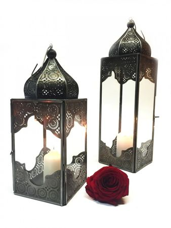 Oriental Indian Lantern Sarala large clear – image 4
