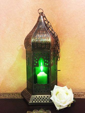 Arabian Lantern Dilip green – image 1