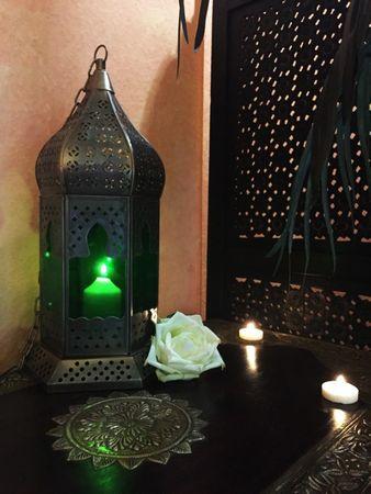 Arabian Lantern Dilip green – image 2