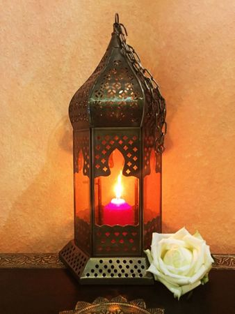Arabian Lantern Dilip orange – image 1