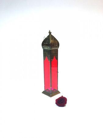 Moroccan Lantern Istari Red – image 4