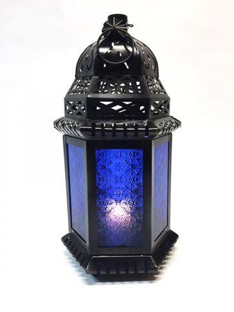 Moroccan Lantern Shyama blue – image 1