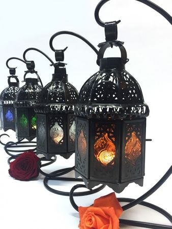 Moroccan Lantern Ulima clear, (including lantern stand). – image 5