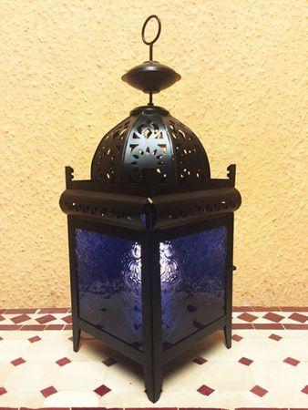 Moroccan Lantern Shadia blue – image 4