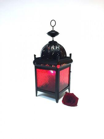 Moroccan Lantern Shadia red – image 3