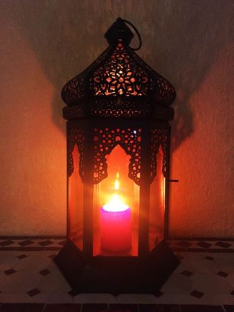 Oriental Indian Lantern Yesim Orange – image 4