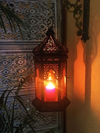 Oriental Indian Lantern Yesim Orange – image 2