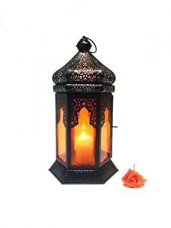 Oriental Indian Lantern Yesim Orange – image 5