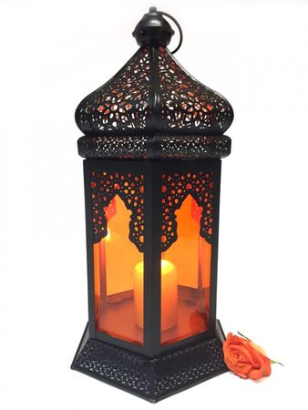 Oriental Indian Lantern Yesim Orange – image 6