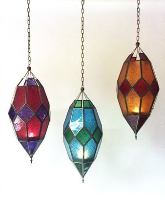 Oriental Ceiling Lamp Sushila Pink – image 5