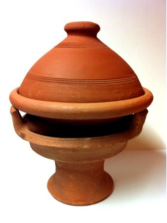 Set of 2, Moroccan Tajine Tuareg - 30cm and Tajine spice mix, 50g – image 4