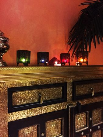 Moroccan Tealights Holder Yasha red – image 5