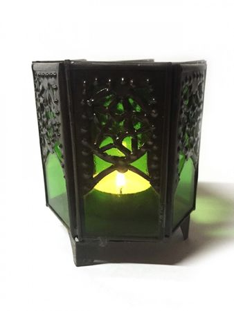 Arabian Tealights Holder Yasha green – image 1