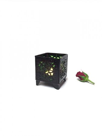 Oriental Tealights Holder Yanis green – image 3