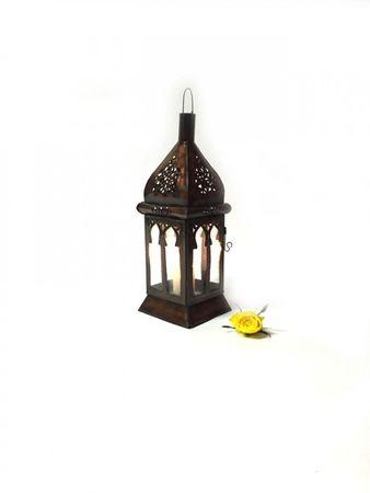 Oriental Lantern Badra Clear - 37cm – image 2
