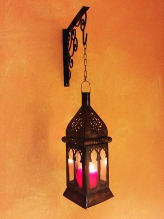 Oriental Lantern Badra Clear - 37cm – image 5