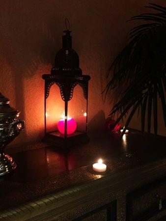 Moroccan Lantern Basak Clear - 45cm – image 6