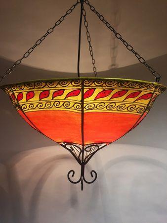 Ceiling Henna Lamp Demren – image 1