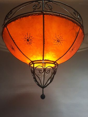 Ceiling Henna Lamp Demren Orange – image 1