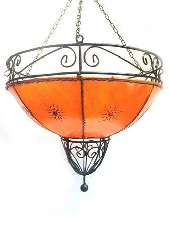 Ceiling Henna Lamp Demren Orange – image 4
