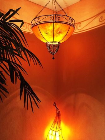 Ceiling Henna Lamp Demren Orange – image 5
