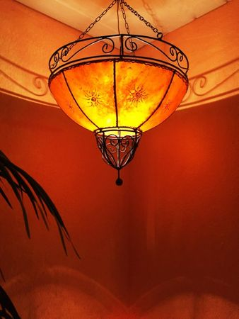 Ceiling Henna Lamp Demren Orange – image 6