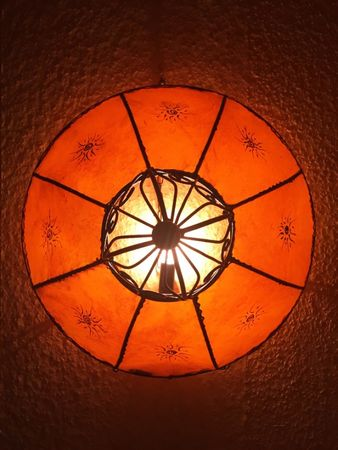 Ceiling Henna Lamp Demren Orange – image 7
