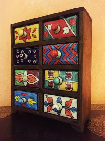 Indian Mini Cabinet Gamzenur – image 5