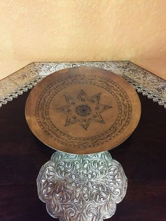 Indian Plate Manoly round - 23cm – image 5
