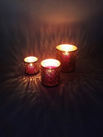 Oriental windlights Tea Light Holder Estelle - Set of 3 – image 3