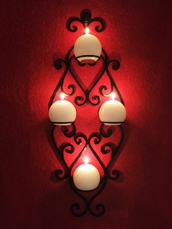 Moroccan Wall Candle Holder candlesticks Acadia - 66cm – image 2