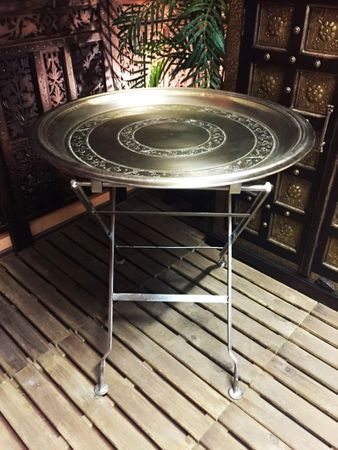 Oriental Table silver colored Adn - 65cm – image 4