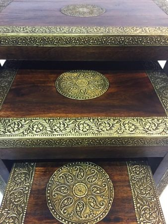 Oriental Set of Tables Ilkin - Set of 3 – image 7