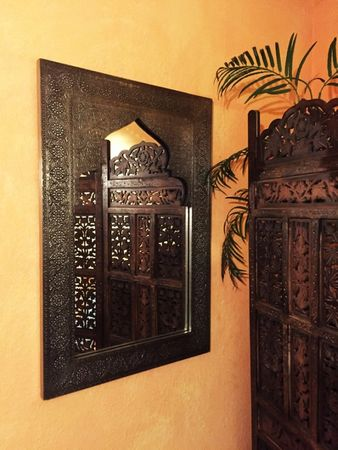 Moroccan Mirror silver colored Talah - 90cm – image 6