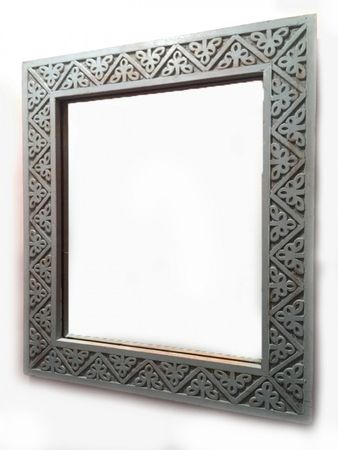 Oriental hand carved Mirror Farah - 70cm – image 1