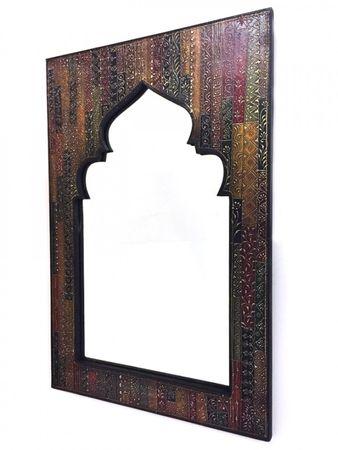 Oriental Mirror painted Tarana - 90cm – image 1