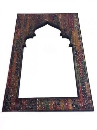 Oriental Mirror painted Tarana - 90cm – image 2