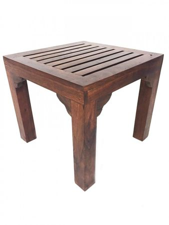 Indian coffee table Stool Tuqa - 90cm - incl. 4 stools – image 6