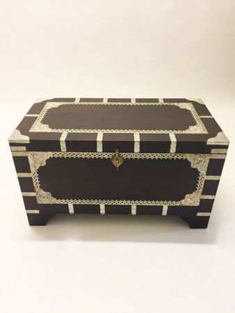 Indian chest table Vimalaa - 80 cm – image 2