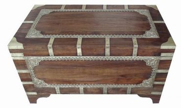 Indian chest table Vimalaa - 80 cm – image 7